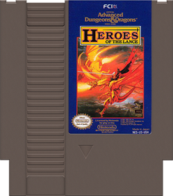Heroes of the Lance - Cart - Front