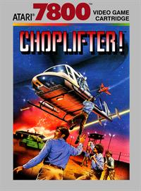 Choplifter! - Box - Front