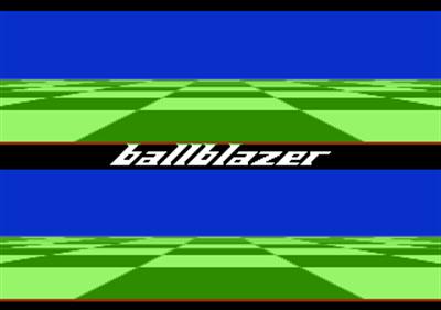 Ballblazer - Screenshot - Game Title