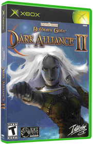 Baldur's Gate: Dark Alliance II - Box - 3D