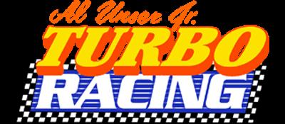 Al Unser Jr. Turbo Racing - Clear Logo