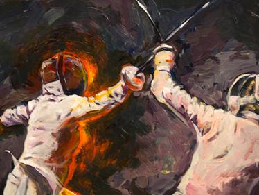Great Swordsman - Fanart - Background