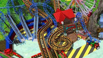 3-D Ultra Pinball: Thrill Ride - Fanart - Background