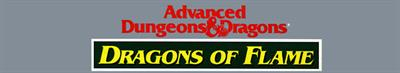 Advanced Dungeons & Dragons: Dragons of Flame - Banner