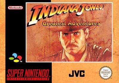 Indiana Jones' Greatest Adventures - Box - Front