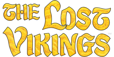 The Lost Vikings - Clear Logo