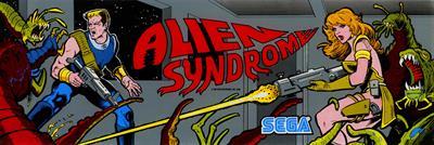 Alien Syndrome - Arcade - Marquee