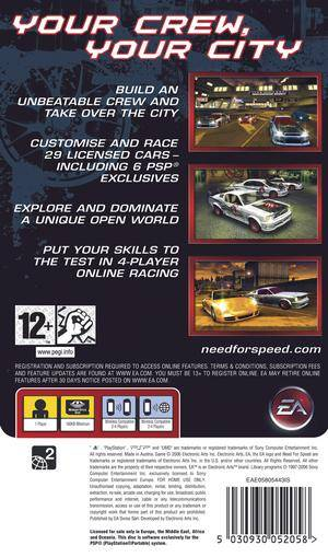 Need For Speed Carbon Own The City Details Launchbox Games Database