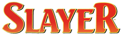 Advanced Dungeons & Dragons: Slayer - Clear Logo