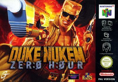 Duke Nukem: Zero Hour - Box - Front