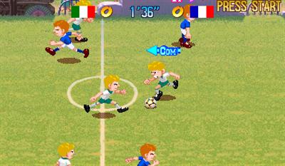 Capcom Sports Club - Screenshot - Gameplay