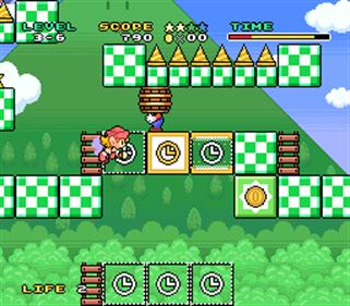 Mario To Wario: Mario & Wario - Screenshot - Gameplay