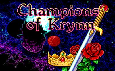 Champions of Krynn - Screenshot - Game Title