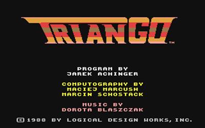 TrianGO - Screenshot - Game Title