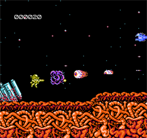 Abadox: The Deadly Inner War - Screenshot - Gameplay