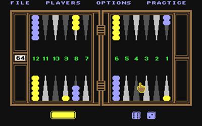 Club Backgammon - Screenshot - Gameplay