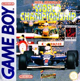 Nigel Mansell's World Chamionship Racing '92