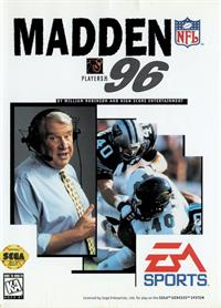 Madden NFL 96 - Box - Front
