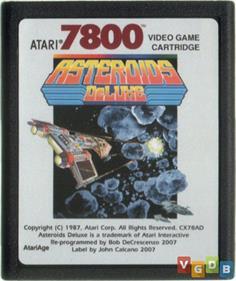 Asteroids Deluxe - Fanart - Cart - Front