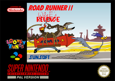 Road Runner II: Wile E's Revenge - Fanart - Box - Front