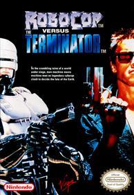 RoboCop Versus The Terminator - Fanart - Box - Front