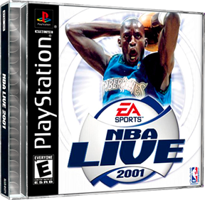 NBA Live 2001 - Box - 3D