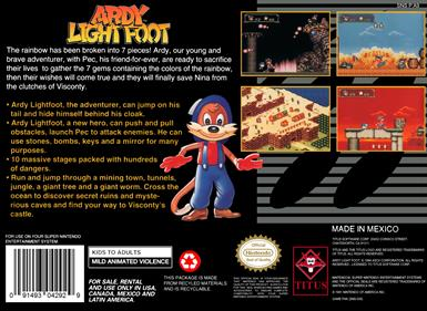 Ardy Lightfoot - Box - Back