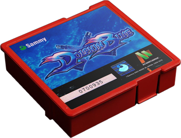 Dolphin Blue - Cart - 3D