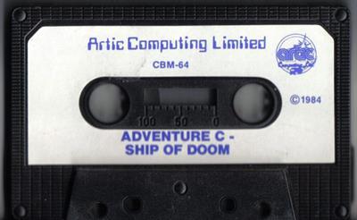 Adventure C: Ship of Doom - Cart - Front