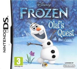 Disney Frozen: Olaf's Quest - Box - Front