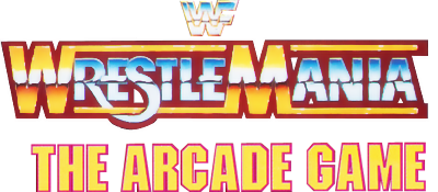 WWF WrestleMania: The Arcade Game - Clear Logo