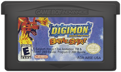 Digimon Battle Spirit - Cart - Front