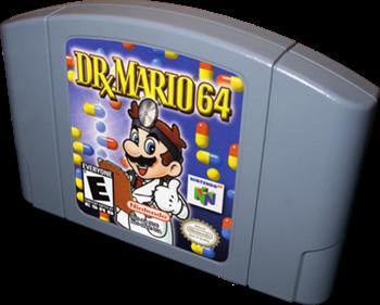 Dr. Mario 64 - Cart - 3D