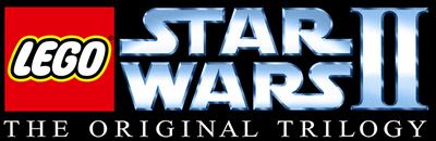 LEGO Star Wars II: The Original Trilogy - Clear Logo
