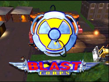 Blast Corps - Screenshot - Game Title