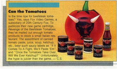 Revenge of the Beefsteak Tomatoes - Advertisement Flyer - Front