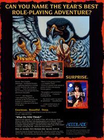 Elvira: Mistress of the Dark - Advertisement Flyer - Front