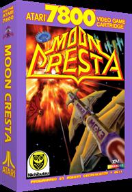 Moon Cresta - Box - 3D