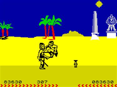 Fighting Warrior - Screenshot - Gameplay