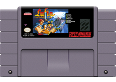 Lufia & the Fortress of Doom - Cart - Front