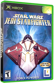 Star Wars: Jedi Starfighter - Box - 3D