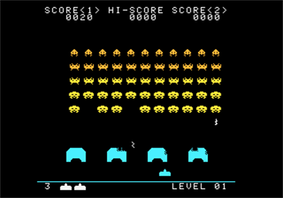 Space Invaders - Screenshot - Gameplay