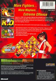 Capcom vs. SNK 2 EO - Box - Back