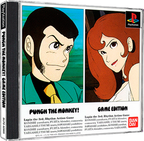 Lupin the 3rd: Punch the Monkey! Game Edition  - Box - 3D