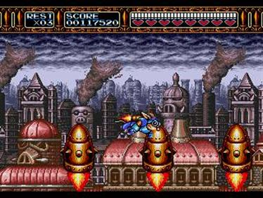 Rocket Knight Adventures - Screenshot - Gameplay