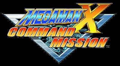 Mega Man X: Command Mission - Clear Logo