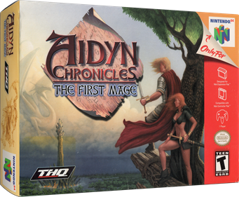 Aidyn Chronicles: The First Mage - Box - 3D
