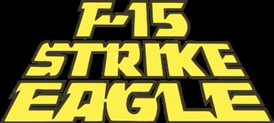 F-15 Strike Eagle - Clear Logo