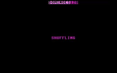 Dominoes 128 - Screenshot - Game Title