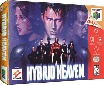 Hybrid Heaven - Box - 3D